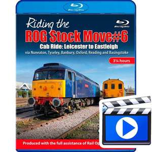 Riding the ROG Stock Move #6 - Cab ride: Leicester to Eastleigh