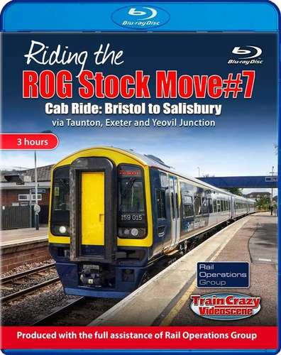 Riding the ROG Stock Move #7. Blu-ray
