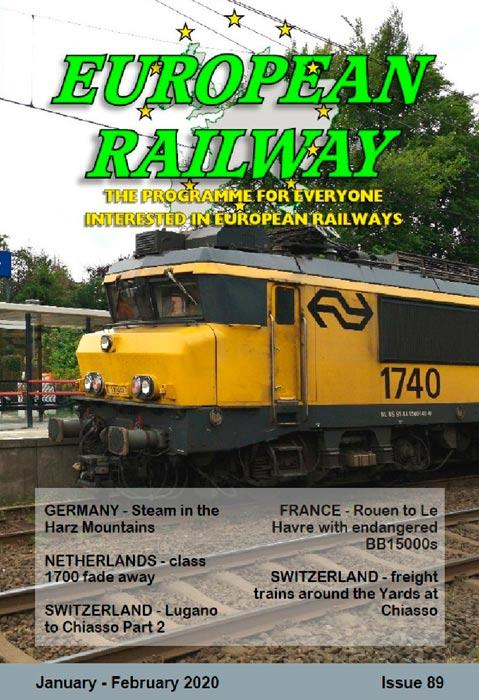 European Railway: Issue 89  January - February 2020
