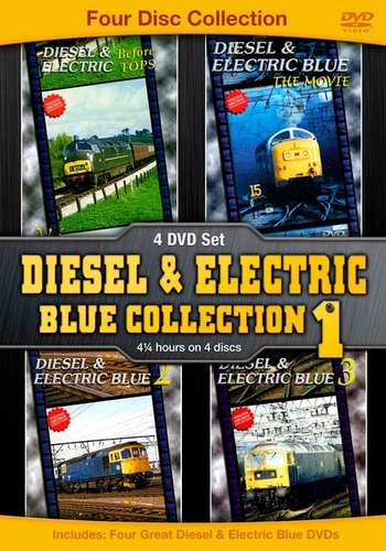 Diesel & Electric Blue Collection No.1