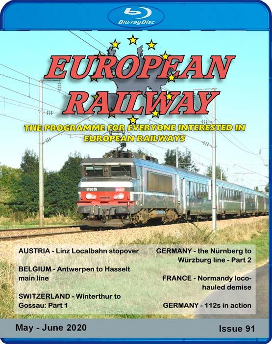 European Railway: Issue 91 .Blu-ray