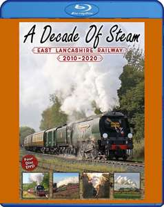 A Decade Of Steam: East Lancashire Railway 2010-2020. Blu-ray