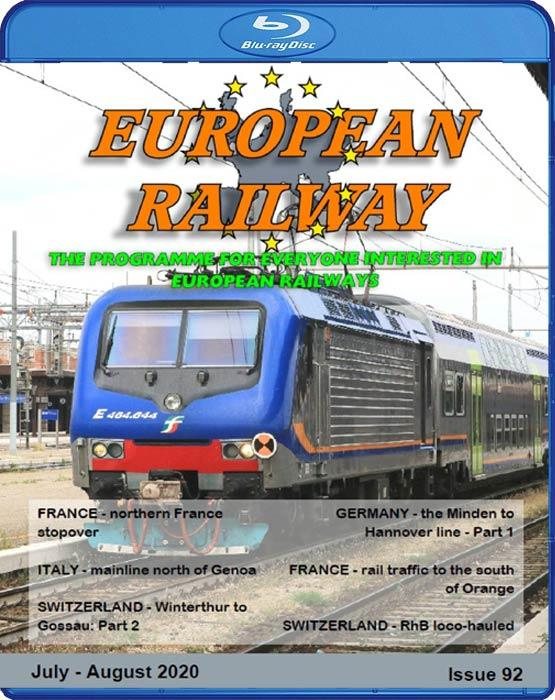 European Railway: Issue 92. Blu-ray