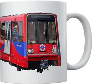Light Rail Mug Collection - Docklands Light Railway B07