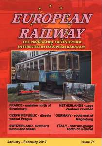 European Railway - Issue 71 - January - February 2017