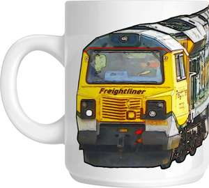 The Class 70 - Big Freight Mug Collection