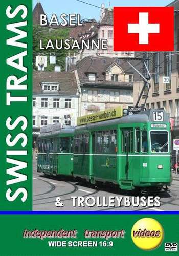 Swiss Trams 3 - Basel and Lausanne