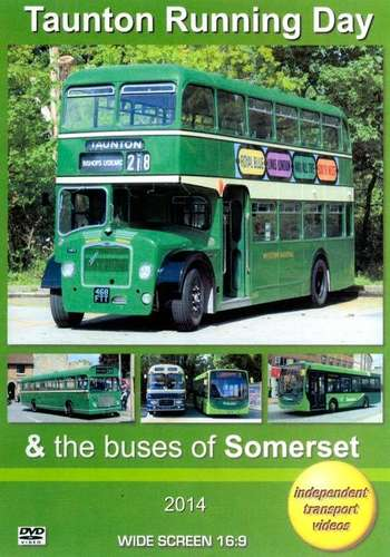 Taunton Running Day and The Buses of Somerset 2014