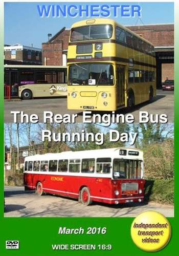 Winchester - The Rear Engine Bus Running Day