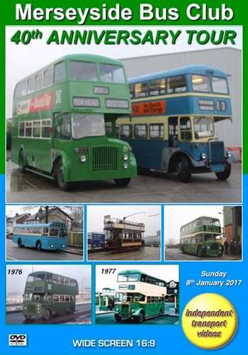 Merseyside Bus Club 40th Anniversary Tour