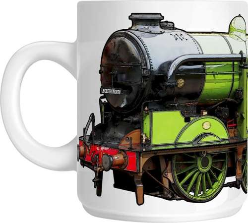 The Steam Mug Collection - Gresley 'N2' 0-6-2T 1744