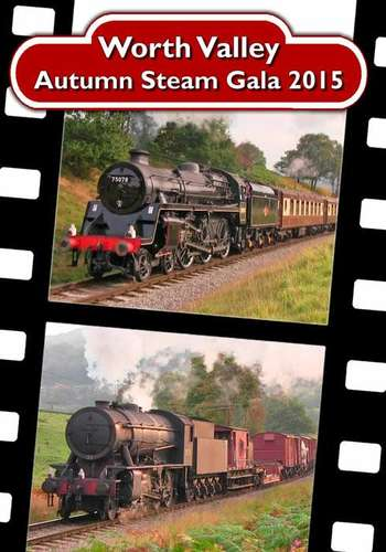 The Keighley and Worth Valley Railway Autumn Steam Gala 2015