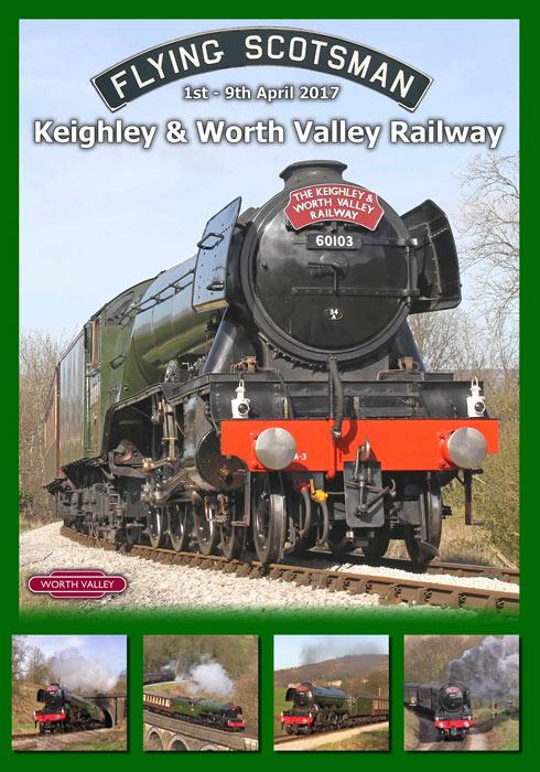 Flying Scotsman - Keighley & Worth Valley Railway - 1st - 9th April 2017