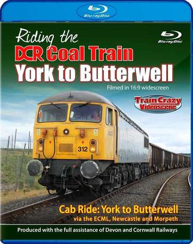 Riding the DCR Coal Train - York to Butterwell - Blu-ray