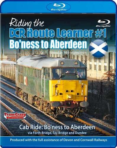 Riding the DCR Route Learner 1 - Bo'ness to Aberdeen - Blu-ray