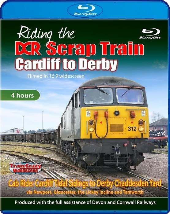 Riding the DCR Scrap Train - Cardiff to Derby - Blu-ray