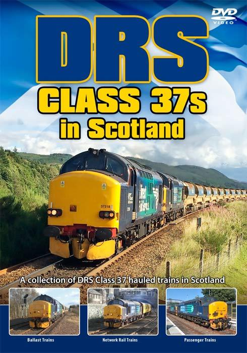 DRS Class 37s in Scotland