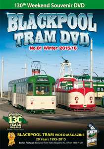 Blackpool Tram DVD No.81 - Winter 2015 - 2016