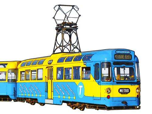 Blackpool Tram Mug Collection 2011 - Metro Twin Car 673-683
