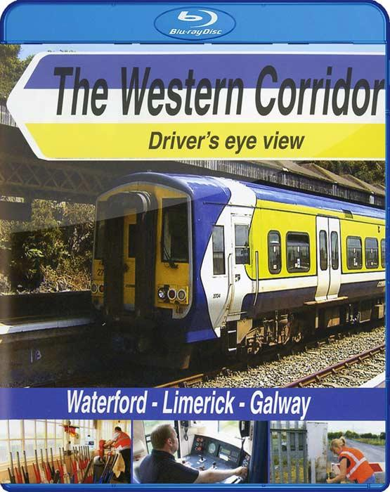 The Western Corridor: Waterford - Limerick - Galway. Blu-ray