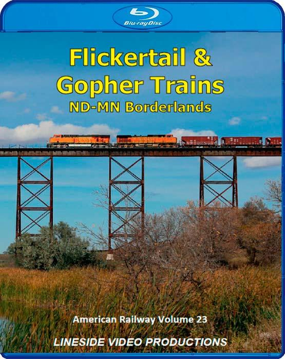 American Railway - Volume 23 - Flickertail and Gopher Trains - Blu-ray
