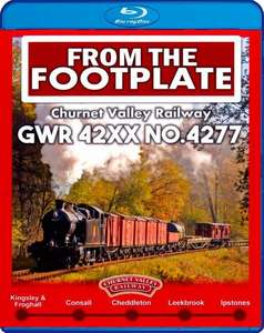 From the Footplate - Churnet Valley Railway - GWR 42XX No.427 - Blu-ray