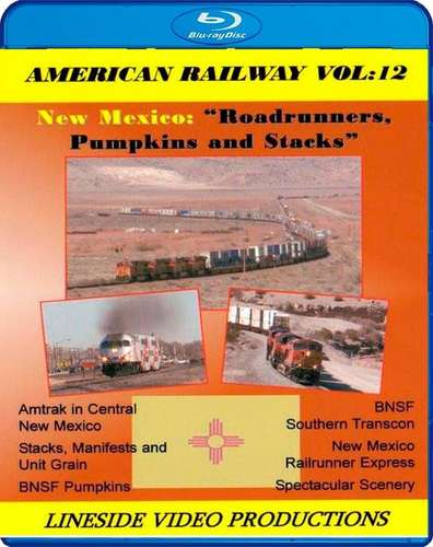 American Railway - Vol 12 - New Mexico Roadrunners Pumpkins and Stacks - Blu-ray