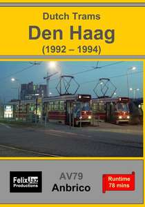 Dutch Trams - Den Haag - 1992-1994