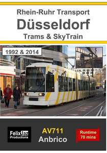 Dusseldorf Trams and Skytrain - 1992 and 2014