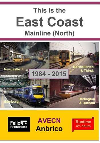 This is the East Coast Mainline North 1984 - 2015  4 Disc Set