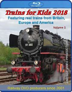 Trains for Kids 2018 - Volume 1 - Blu-ray