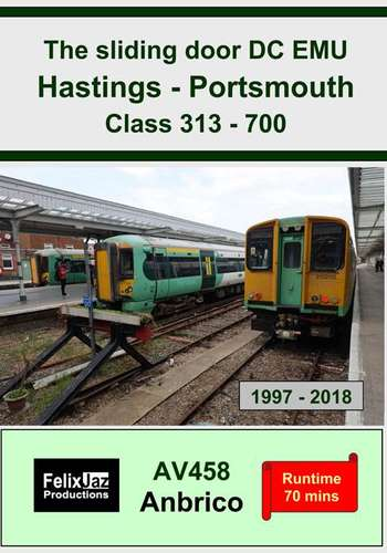 The Sliding Door DC EMU Hastings - Portsmouth Class 313 - 700