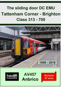 The Sliding Door DC EMU Tattenham Corner - Brighton Class 313 - 700