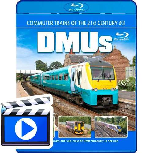 Commuter Trains of the 21st Century #3 - DMUs (1080p HD)