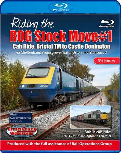 Riding the ROG Stock Move #1 - Cab Ride: Bristol TM to Castle Donington. Blu-ray