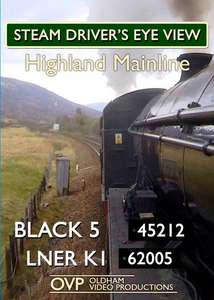 Steam Driver's Eye View - Highland Mainline