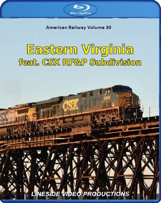 American Railway Volume 30: Eastern Virginia. Blu-ray