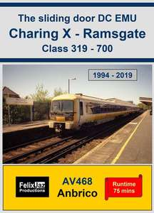 The Sliding Door DC EMU Charing Cross - Ramsgate Class 319 - 700