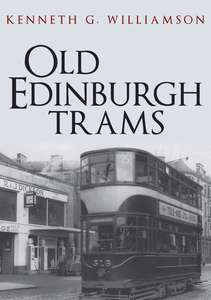 Old Edinburgh Trams Book