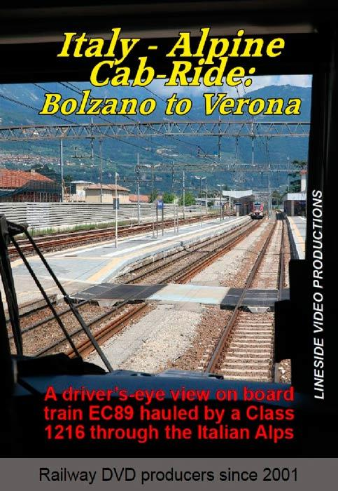 Italy - Alpine Cab-Ride: Bolzano to Verona