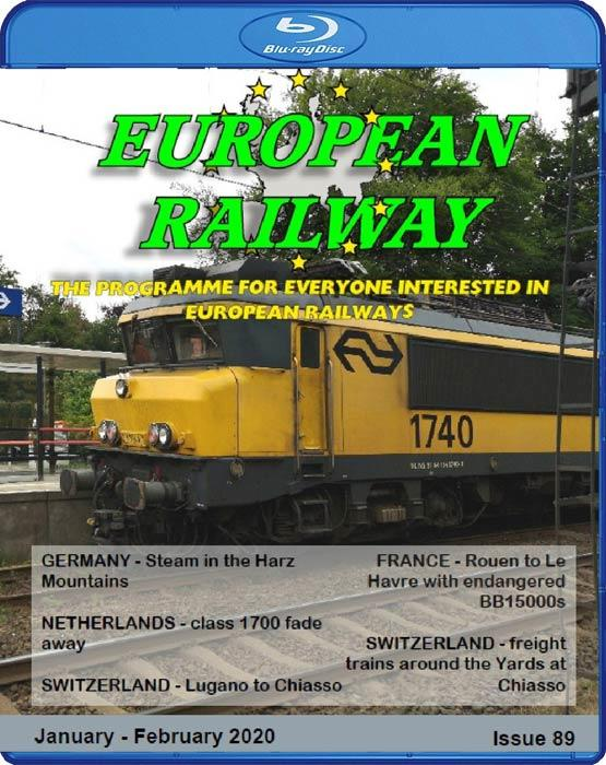 European Railway: Issue 89  January - February 2020 Blu-ray