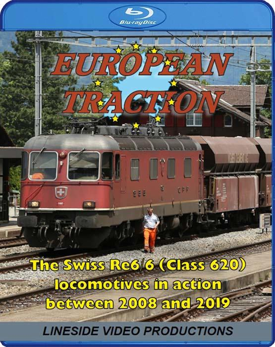 European Traction: The Swiss Re 6/6 Class 620 Locomotives. Blu-ay