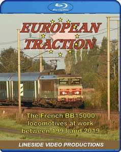 European Traction: The French BB15000 Locomotives at work.Blu-ray