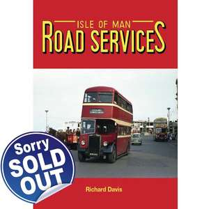 Isle of Man Road Services by Richard Davis - BOOK