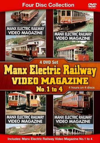 Manx Electric Railway Video Magazine No. 1 to 4