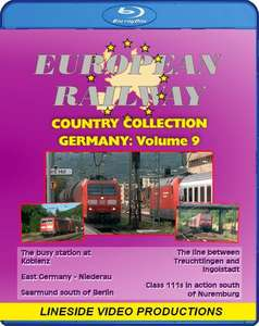 European Railway - Country Collection: Germany - Volume 9. Blu-ray