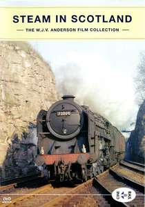 Archive Series Volume 13 - Steam In Scotland - The W.J.V. Anderson Collection