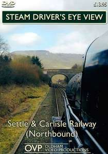 Steam Drivers Eye View - Settle and Carlisle Railway - Northbound