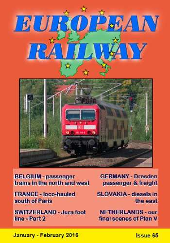 European Railway - Issue 65 - January - February 2016