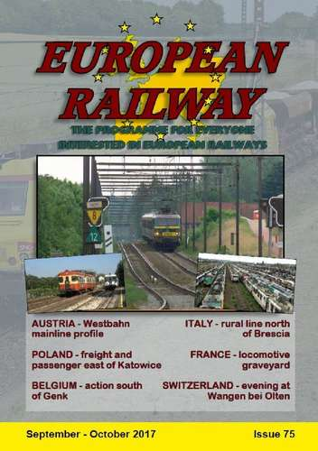 European Railway - Issue 75 - September - October 2017
